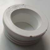Internal White Rubber Flush Pipe Cone - 08000681